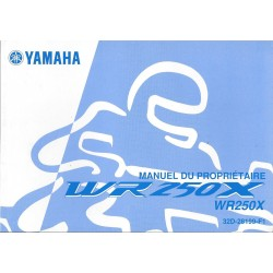 YAMAHA WR 250 X (type 32D modèle 2008)