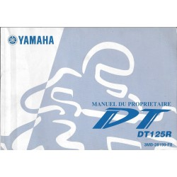YAMAHA DT 125 R (type 3MB modèle 2001)
