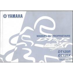 YAMAHA DT 125 R et DT 125 X (type 1D0 modèle 2004)