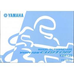 YAMAHA YBR 125 (type 27S modèle 2008)
