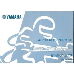 YAMAHA EW 50 NAKED SLIDER modèle 2003