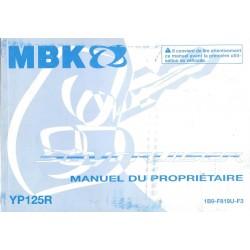 MBK YP 125 R SKYLINER (type 1B9 modèle 2009)