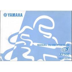 YAMAHA XF 50 E (type 15P modèle 2007)