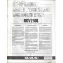 SUZUKI RGV 250 L 1990 (manuel assemblage 08 / 1989)