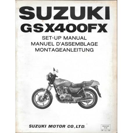 SUZUKI GSX 400 FX 1981 (manuel assemblage 05 / 1981)