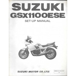 SUZUKI GSX 1100 ESE de 1984 (manuel assemblage 03 / 1984)
