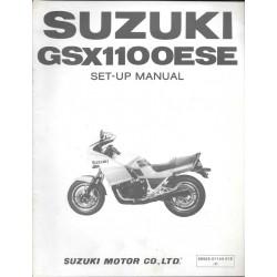 SUZUKI GSX 1100 ESE de 1984 (manuel assemblage 03 / 1984)