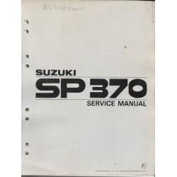 Manuel atelier SUZUKI SP / DR 370 de 1978
