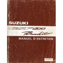 Manuel atelier SUZUKI GSF 400 Bandit