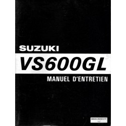 Manuel atelier SUZUKI VS 600 GL 1995