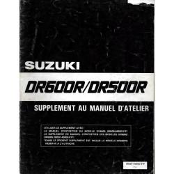 Manuel atelier SUZUKI DR 600 RG de 1986