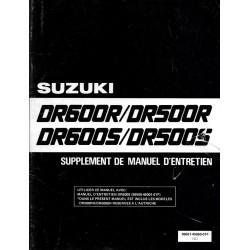 Manuel atelier SUZUKI DR 600 RH 1987