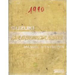 Manuel atelier SUZUKI DR 650 RL / DR 650 SL de 1990