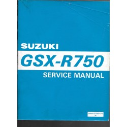 Manuel atelier SUZUKI GSX-R 750 modèle 1985