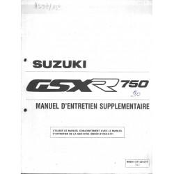 Manuel atelier additif SUZUKI GSX-R 750 L (12 / 89)