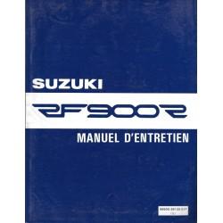 Manuel atelier SUZUKI RF 900 RR de 1994