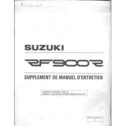 Manuel atelier SUZUKI RF 900 RS de 1995