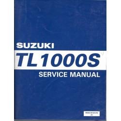 Manuel atelier SUZUKI TL 1000 SV de 1997