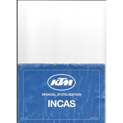 KTM Manuel utilisation 500 / 600 INCAS 1989