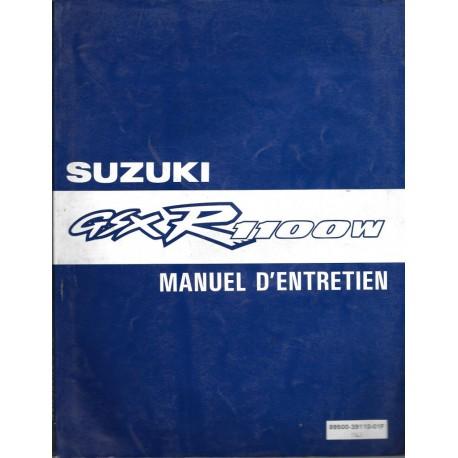 Manuel atelier SUZUKI GSX-R 1100 W de 1993