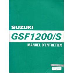 Manuel atelier SUZUKI GSF 1200 T et ST de 1996