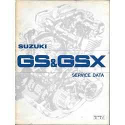 Manuel atelier SUZUKI GS 1000 / GSX 250