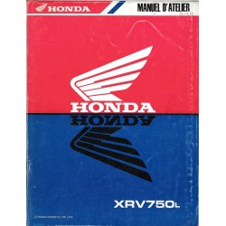 HONDA XRV 750 Africa manuel de base 1990