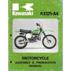 Manuel assemblage KAWASAKI KX 125-A4