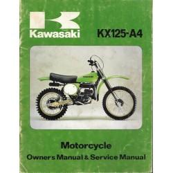 Manuel atelier KAWASAKI KX 125-A4
