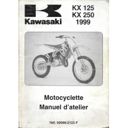 Manuel atelier KAWASAKI KX 125 / KX 250 de 1999