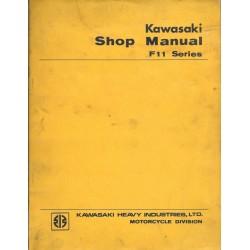 Manuel atelier KAWASAKI 250 cc F 11