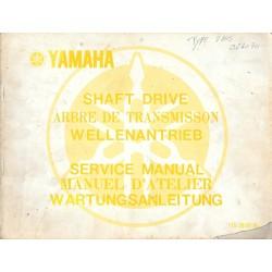 Manuel atelier spécifique YAMAHA XS 750 type 1T5
