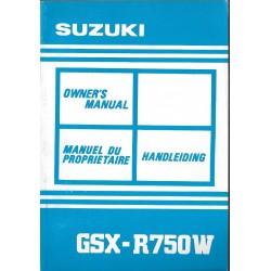 SUZUKI GSX-X 750 WN de 1992