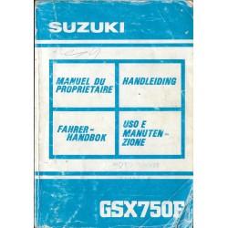 SUZUKI GSX 750 FL de 1990