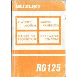 SUZUKI RG 125 P
