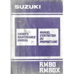 SUZUKI RM 80 L / XL de 1990