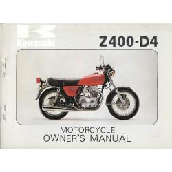 KAWASAKI Z 400-D4 de 1976 / 1977