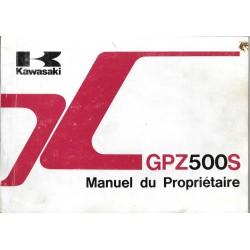 KAWASAKI GPZ 500 S de 1989