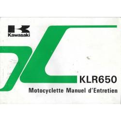 KAWASAKI KLR 650-A2 modèle 1988