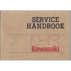 Livret technique gamme KAWASAKI 1977 (12 / 1976)