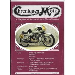 CHRONIQUES MOTO n° 7 JUILLET / AOUT 1988