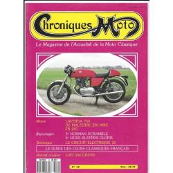CHRONIQUES MOTO n° 10 JANVIER / FEVRIER 1989