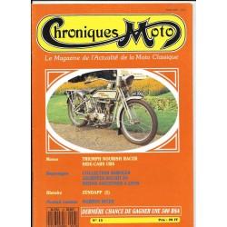 CHRONIQUES MOTO n° 13 JUILLET / AOUT 1989