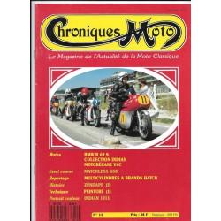 CHRONIQUES MOTO n° 14 SEPTEMBRE / OCTOBRE 1989