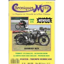 CHRONIQUES MOTO n° 18 MAI 1990
