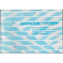 HONDA VF 750 F de 1984