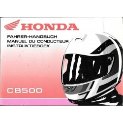 HONDA CB 500 de 1997