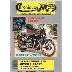 CHRONIQUES MOTO n° 22 OCTOBRE 1990
