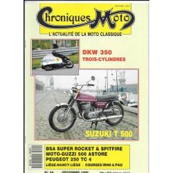 CHRONIQUES MOTO n° 24 DECEMBRE 1990