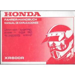 HONDA XR 600 R de 1990